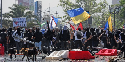 CHILE-STUDENTS-PROTEST
