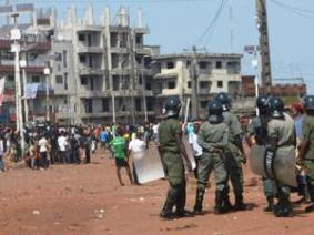 Riots-In-Guinean-Capital