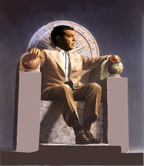 TSIPRAS_on_Throne