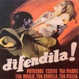Η αφίσα γράφει: Προστάτεψε την! Θα μπορούσε να είναι η μητέρα σου, η γυναίκα σου, η αδερφή σου, η κόρη σου!