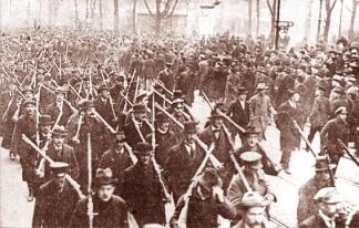 Ένοπλη διαδήλωση στο Βερολίνο